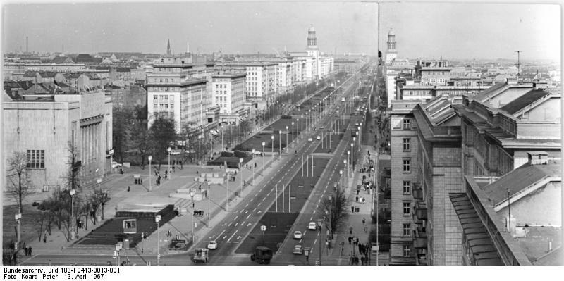Berlin, Karl-Marx-Allee, Deutsche Sporthalle