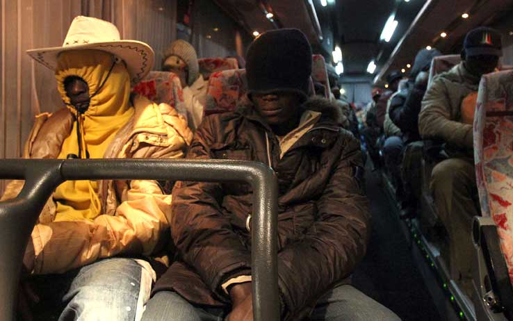 Migranti nigeriani