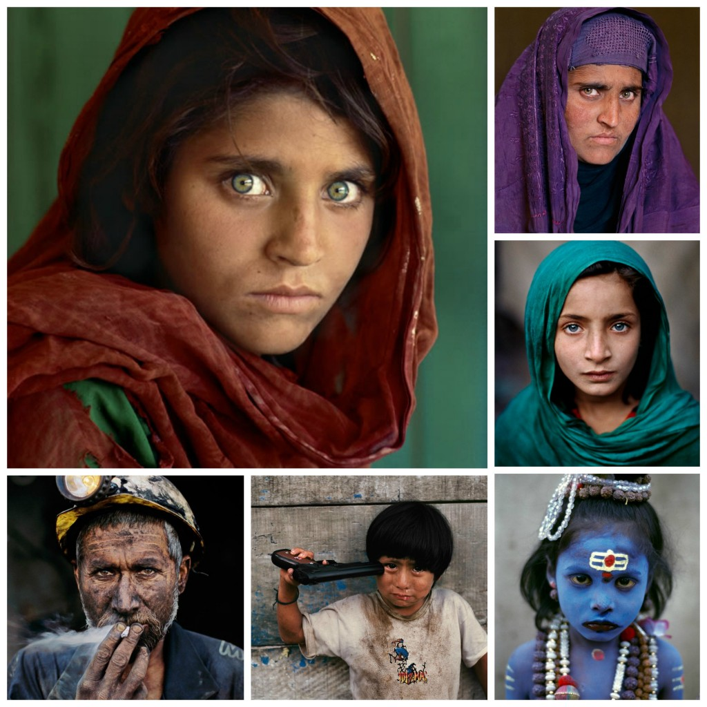 Steve mccurry collage 3