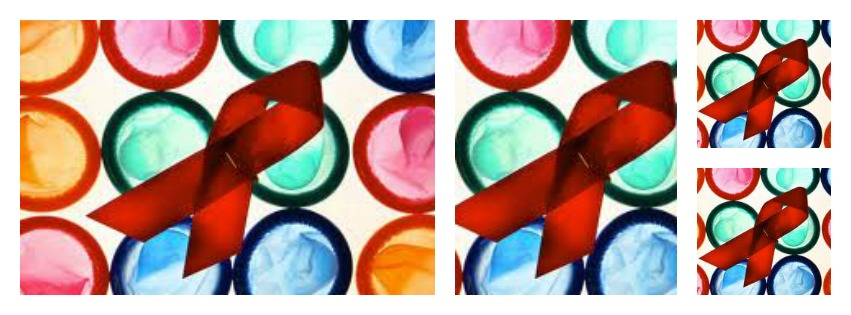 AIDS collage