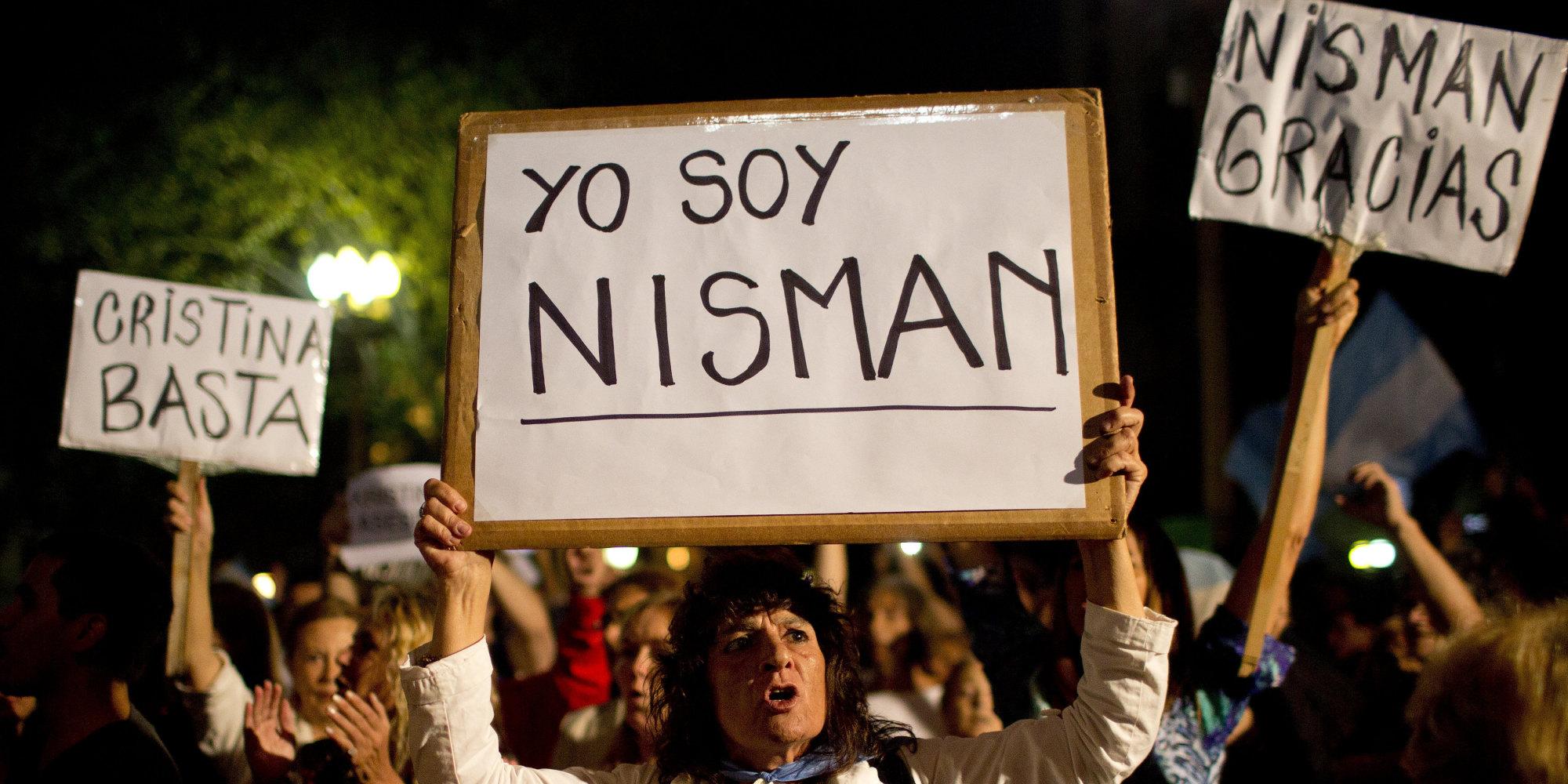 APTOPIX Argentina Prosecutor Killed