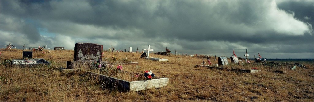 Indian Cemetery in Montana, 2000