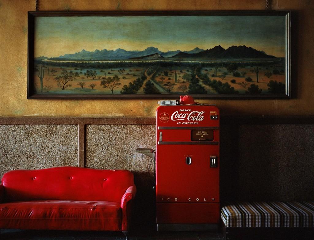 Lounge Painting # 1, Gila Bend, Arizona, 1983