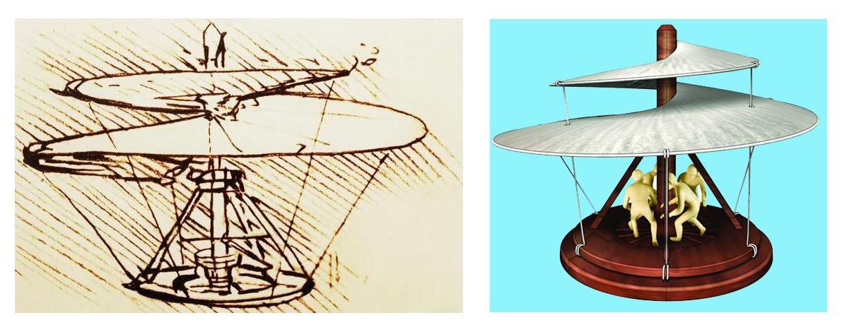 Elicottero Leonardo Da Vinci : Invenzioni inutili fallite dimenticate e tornate alla