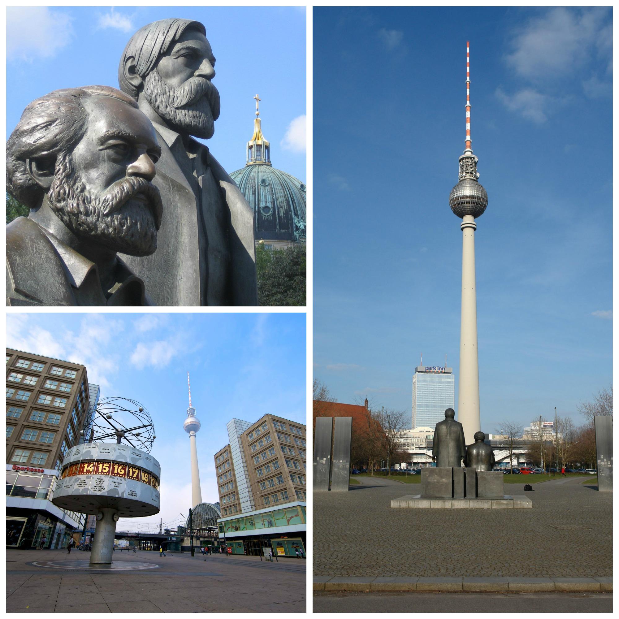 Berlin Est Collage