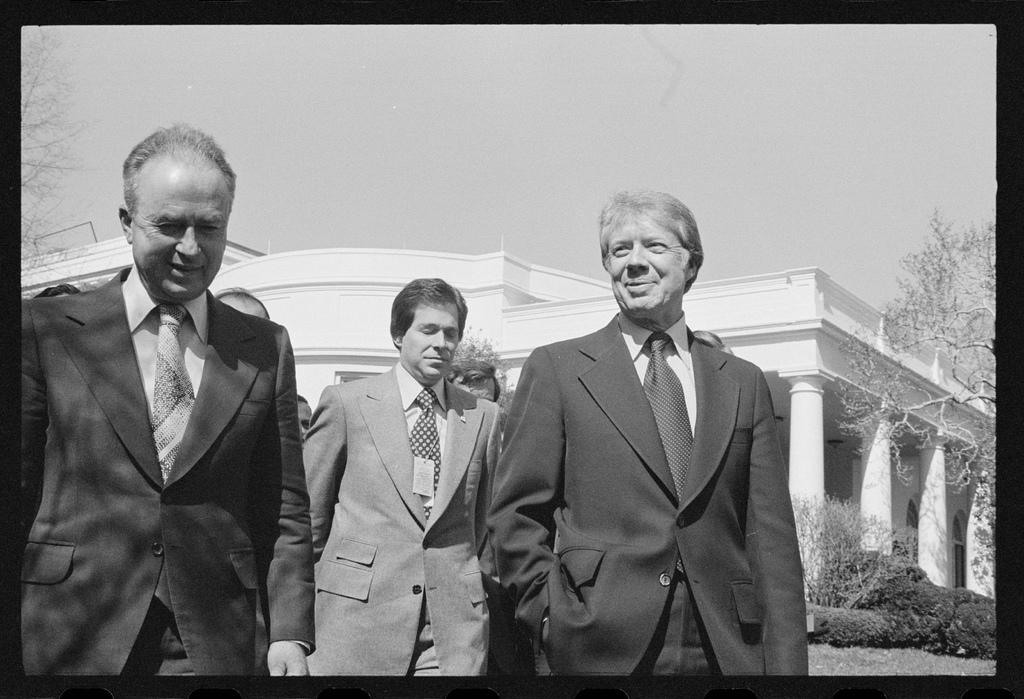 Rabin e Jimmy Carter