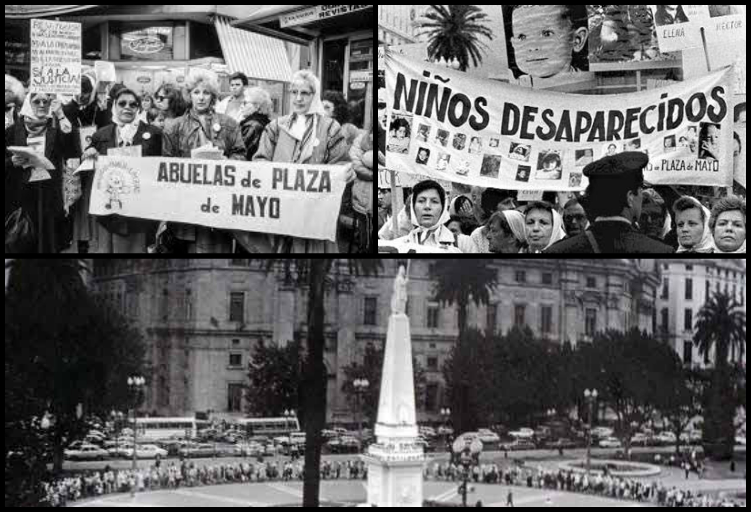 Plaza de Mayo Collage