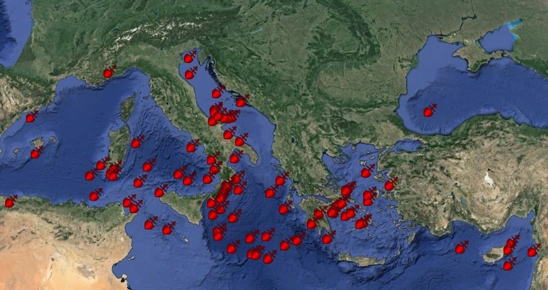 shipwreck spots