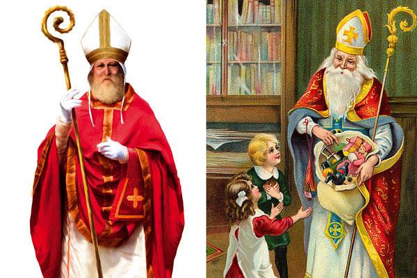 Babbo Natale E San Nicola.Le Radici Di Santa Lucia E San Nicola Vulcano Statale