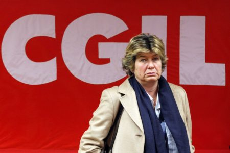 FOTO DI REPERTORIO  ©lapresse 09/02/12 Susanna Camusso