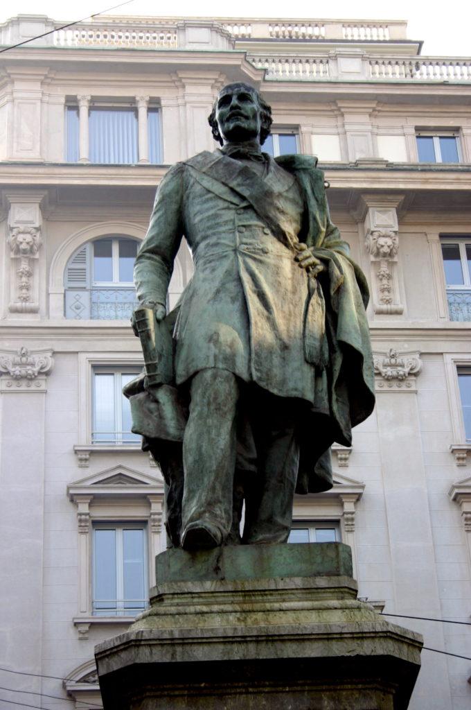 6297_-_Milano_-_Ettore_Ferrari,_Monumento_a_Carlo_Cattaneo_(1900)_-_Foto_Giovanni_Dall'Orto,_14-Feb-2008