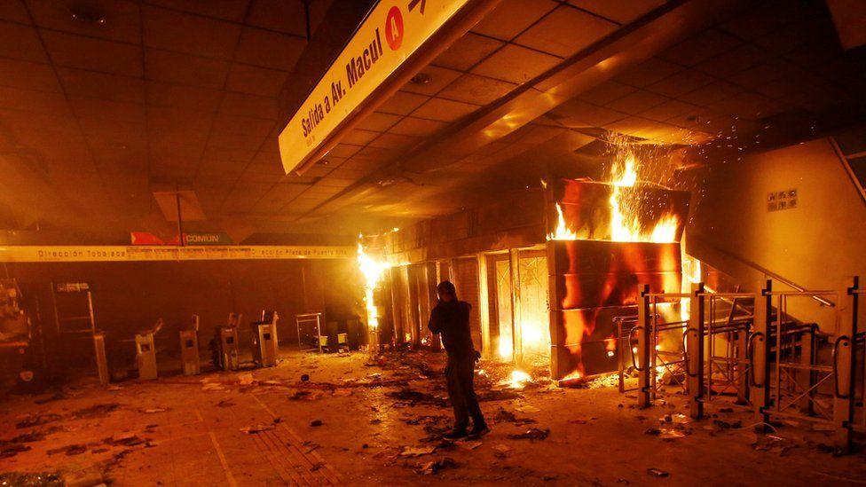 Proteste in Cile: dichiarato lo stato di emergenza a Santiago -Vulcano Statale