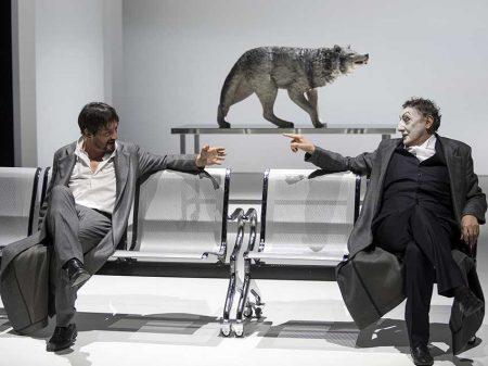 """""""Scene da Faust"""" al Piccolo (foto di Luca Manfrini) Teatro Grassi"""