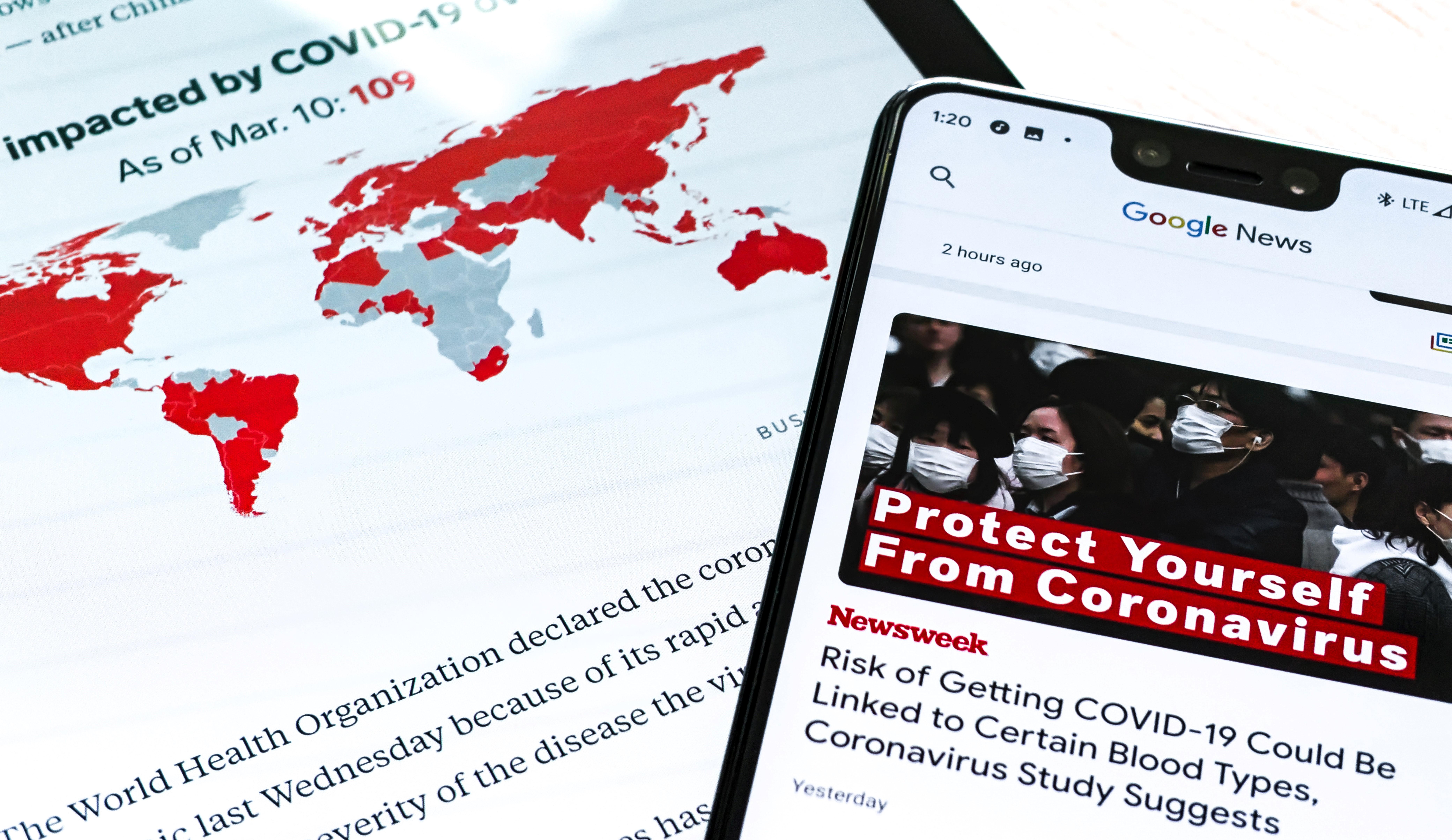 Infodemia: la pandemia digitale