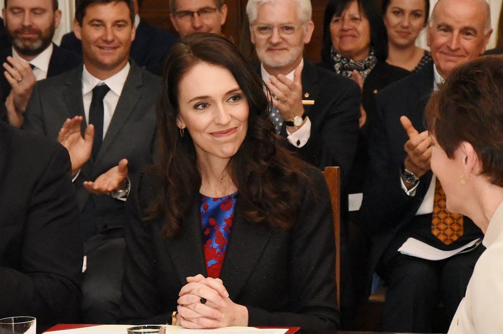 Il Primo Ministro neozelandese Jacinta Ardern