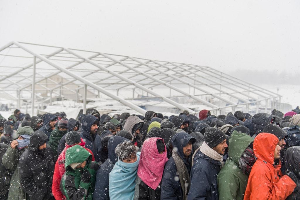 L'inferno del campo profughi di Lipa