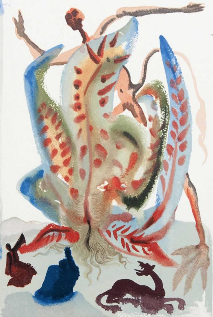 La golosità, Salvador Dalì