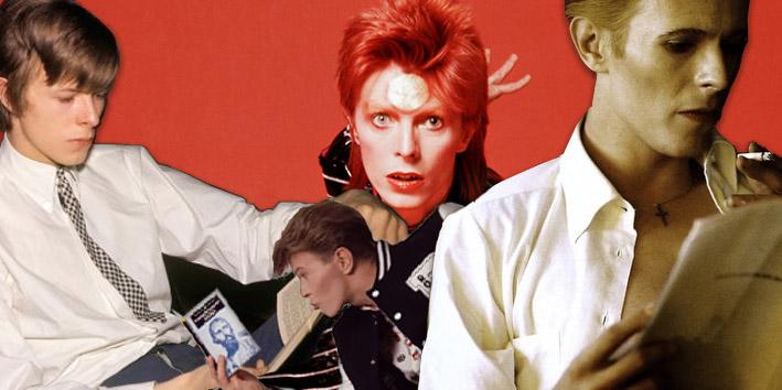 David Bowie lettore: 100 libri per (far) parlare di sé