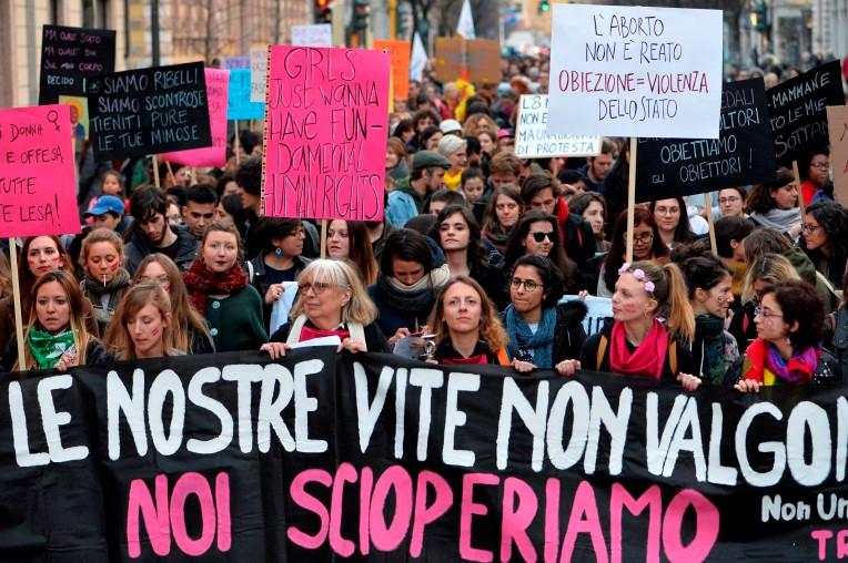 Il diritto di scegliere: consultori, aborto e pandemia (foto di Non una di meno)