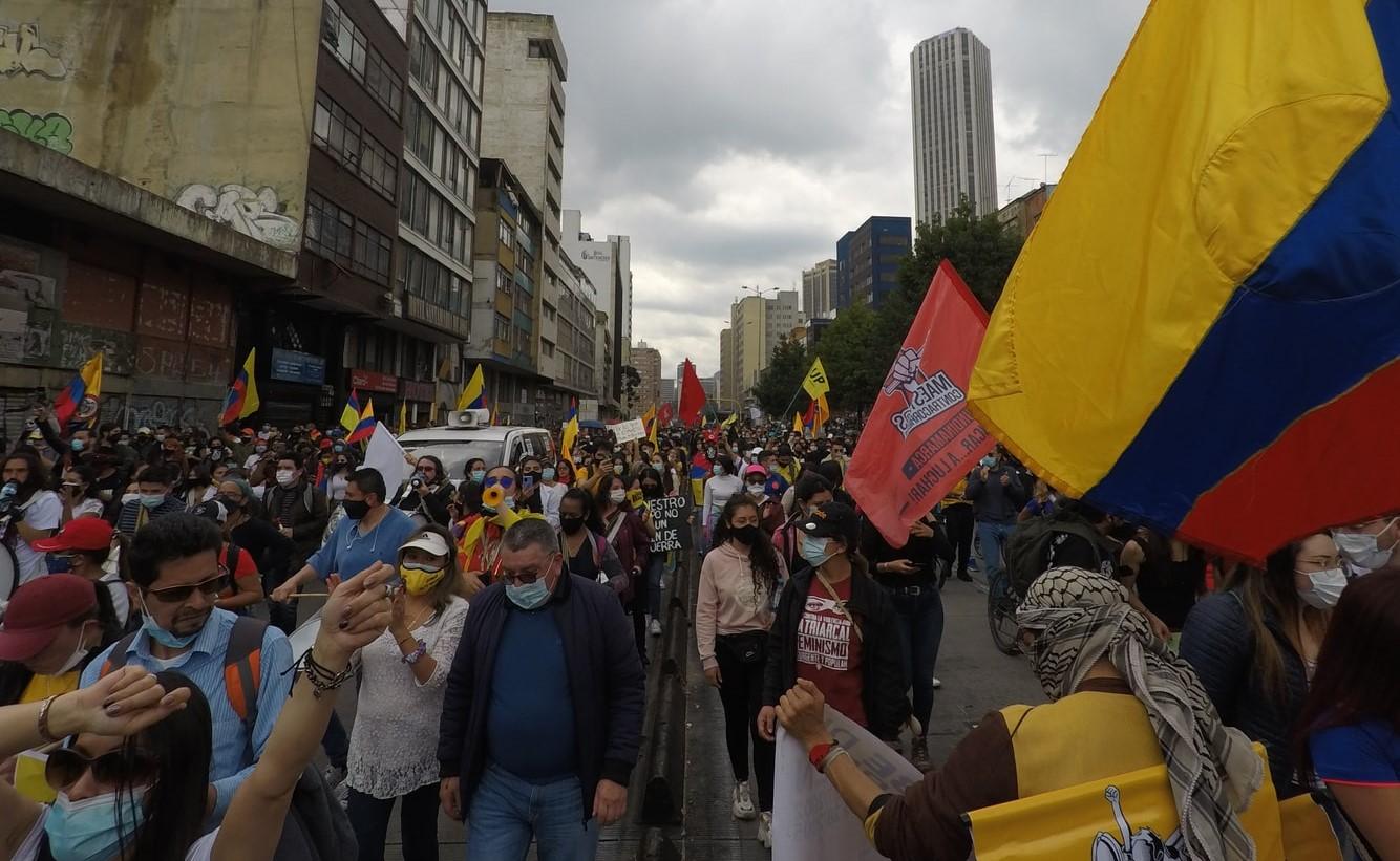 """Colombia, """"la democracia no está en cuarantena"""""""