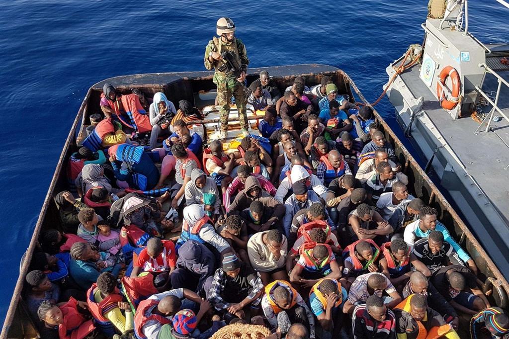 La missione italiana in Libia continua