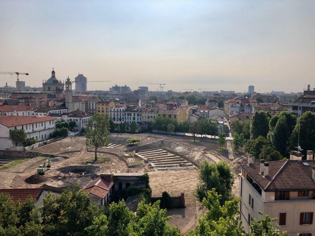 Parco Amphitheatrum Naturae, un anfiteatro green per Milano